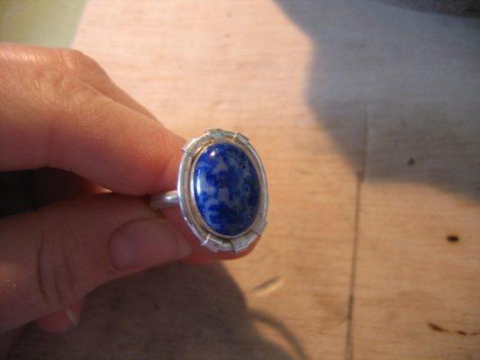 zilver met lapis lazuli - 2006