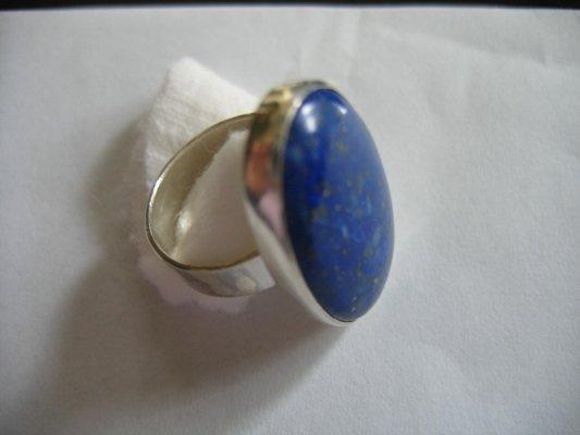 zilver en lapis lazuli - 2006