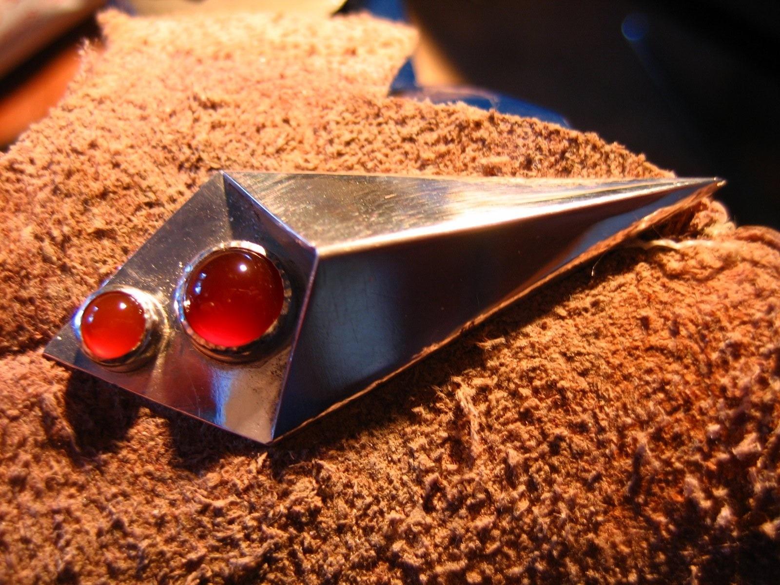 zilver met carneool - 2009