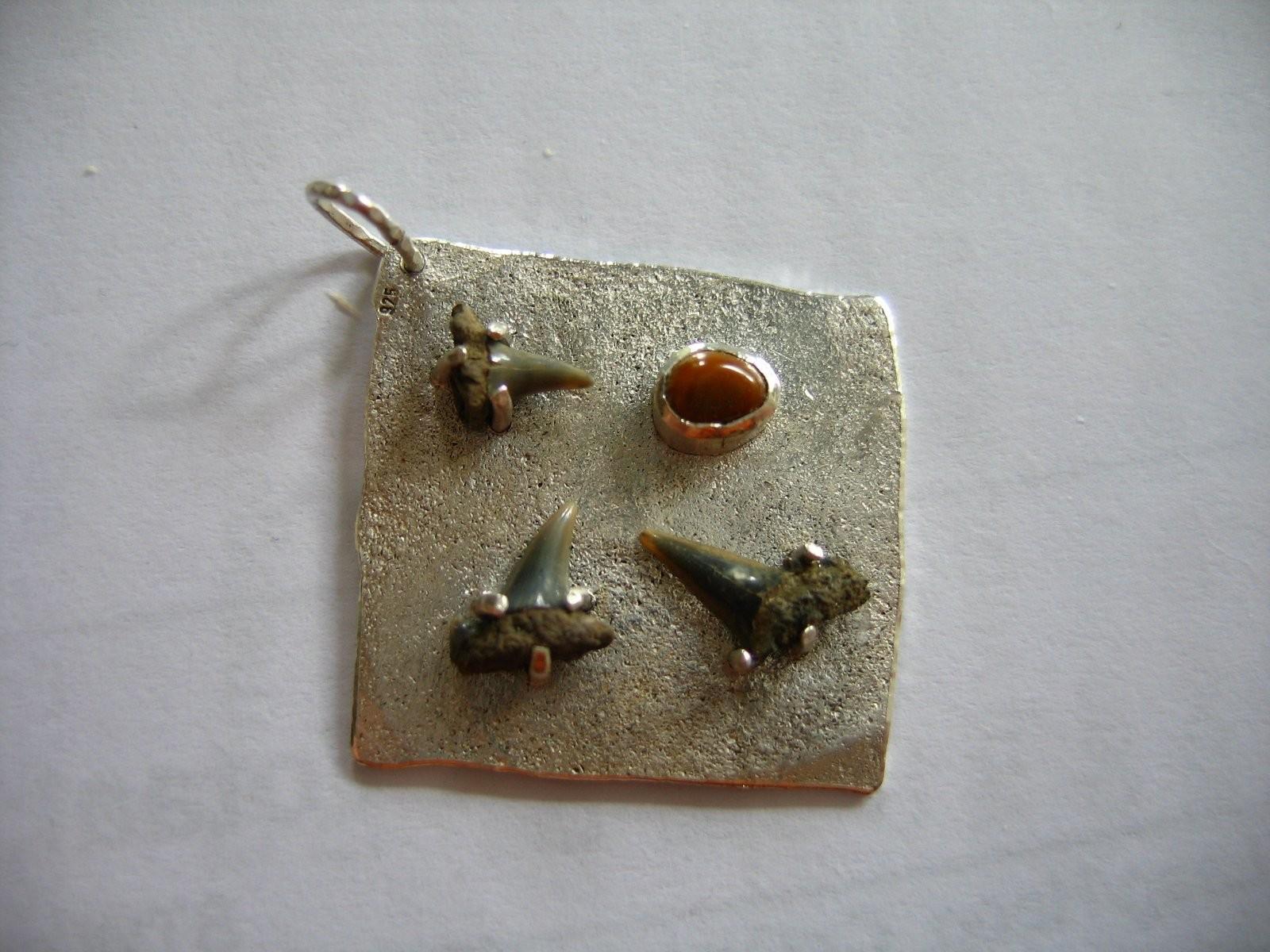 zilver met 3 haaietanden en een roggetandje - 2009
